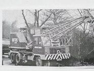 A 1970s AWD Smith LT15 Cranetruck