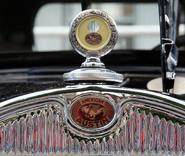 American Austin hood ornament