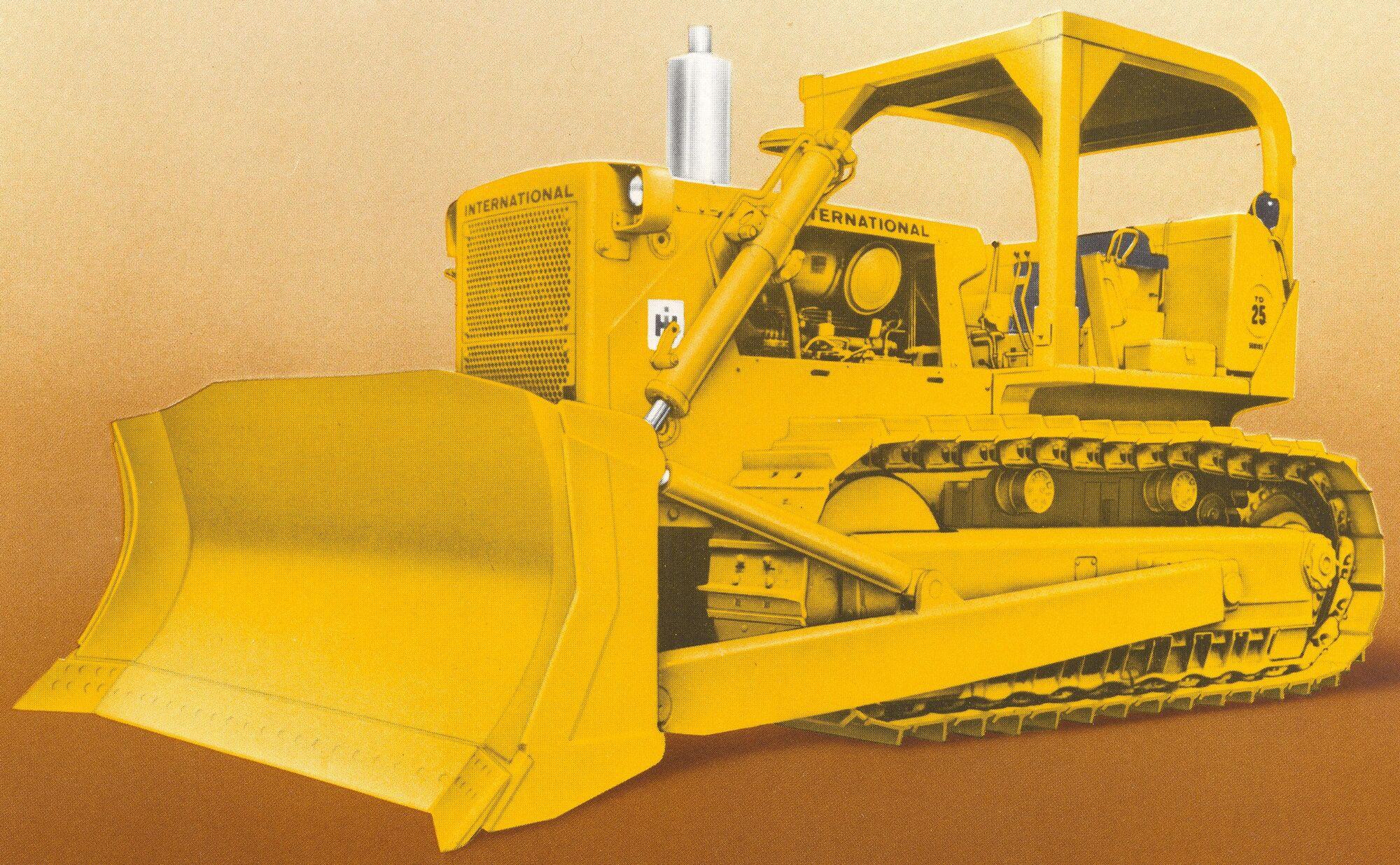 International TD-25C | Tractor & Construction Plant Wiki | FANDOM powered  by Wikia