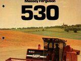 Massey Ferguson 530 combine