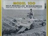 Minneapolis-Moline 100 swather
