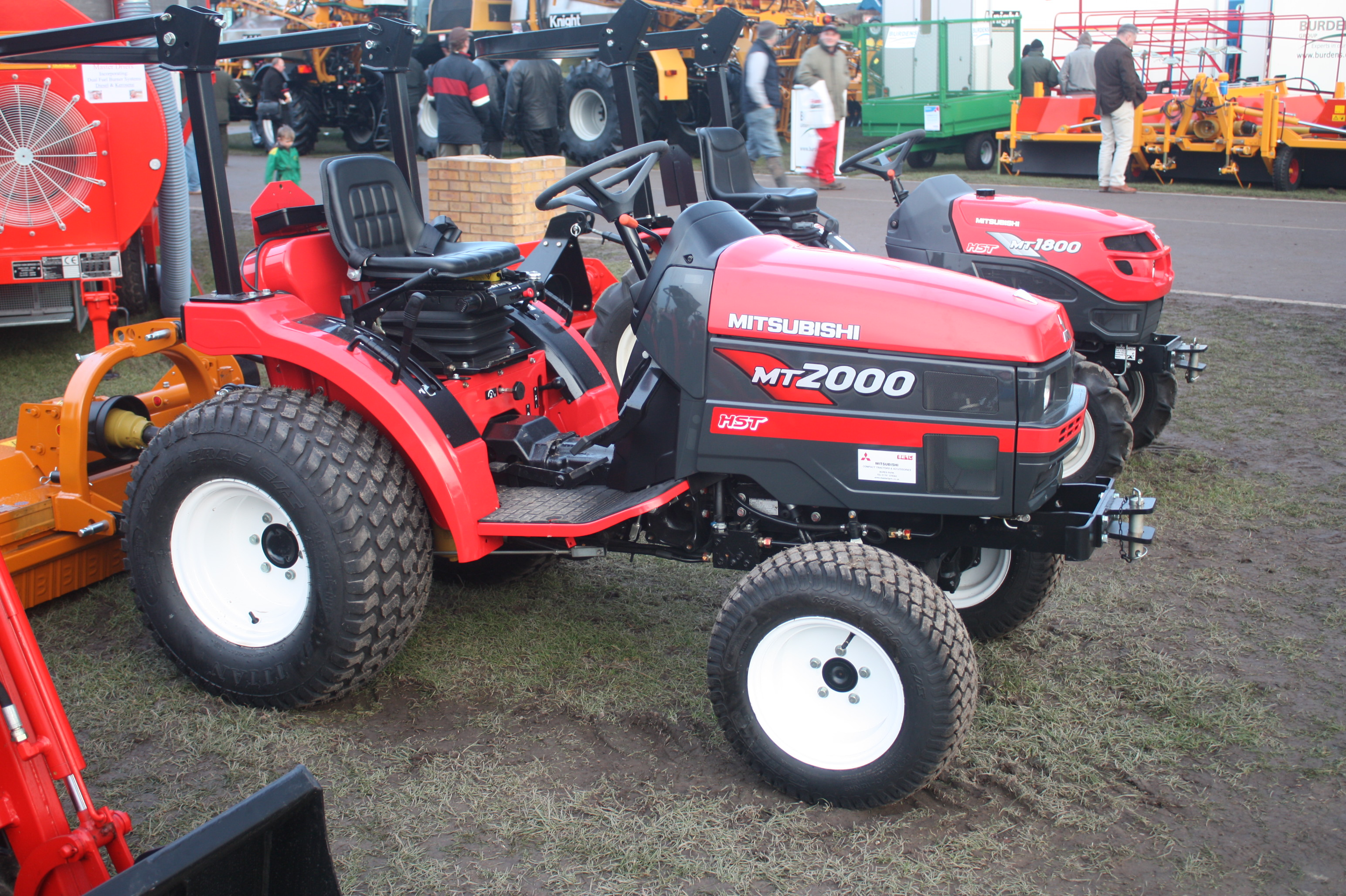 Mitsubishi Agricultural Machinery   Tractor & Construction Plant