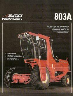 New Idea (AVCO) 803A brochure
