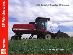 New Idea 5840 swather brochure