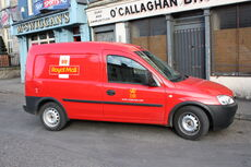 Royal Mail van, Newry, March 2010.JPG