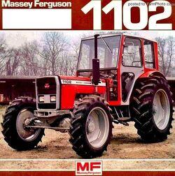 MF 1102 MFWD (Eicher)