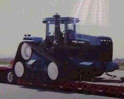 NH Versatile tracked prototype