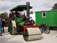 A 1930s Aveling Barford Steam Roller