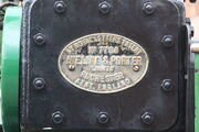Aveling & Porter no. 7798 royalty plate - IMG 1889