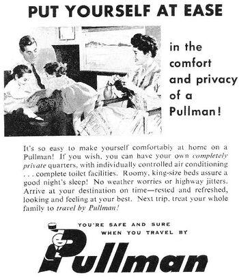 Pullman advertisement