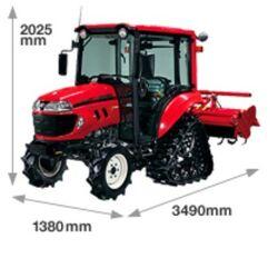 Yanmar EG221 EcoTra Justy MFWD - 2012
