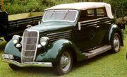 1935 Ford Model 48 740 Convertible Sedan DKJ812