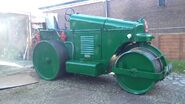 A 1940s Aveling Barford GB1 Petrol Roadroller
