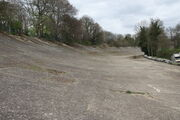 Brooklands banked concrete track - IMG 8421