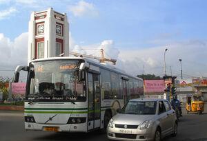 Chennai Royapettah clock tower