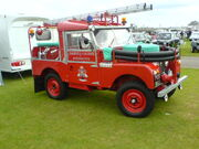 Land Rover SI Fire Engine PGK 965 at Lincoln 08 - DSC00047