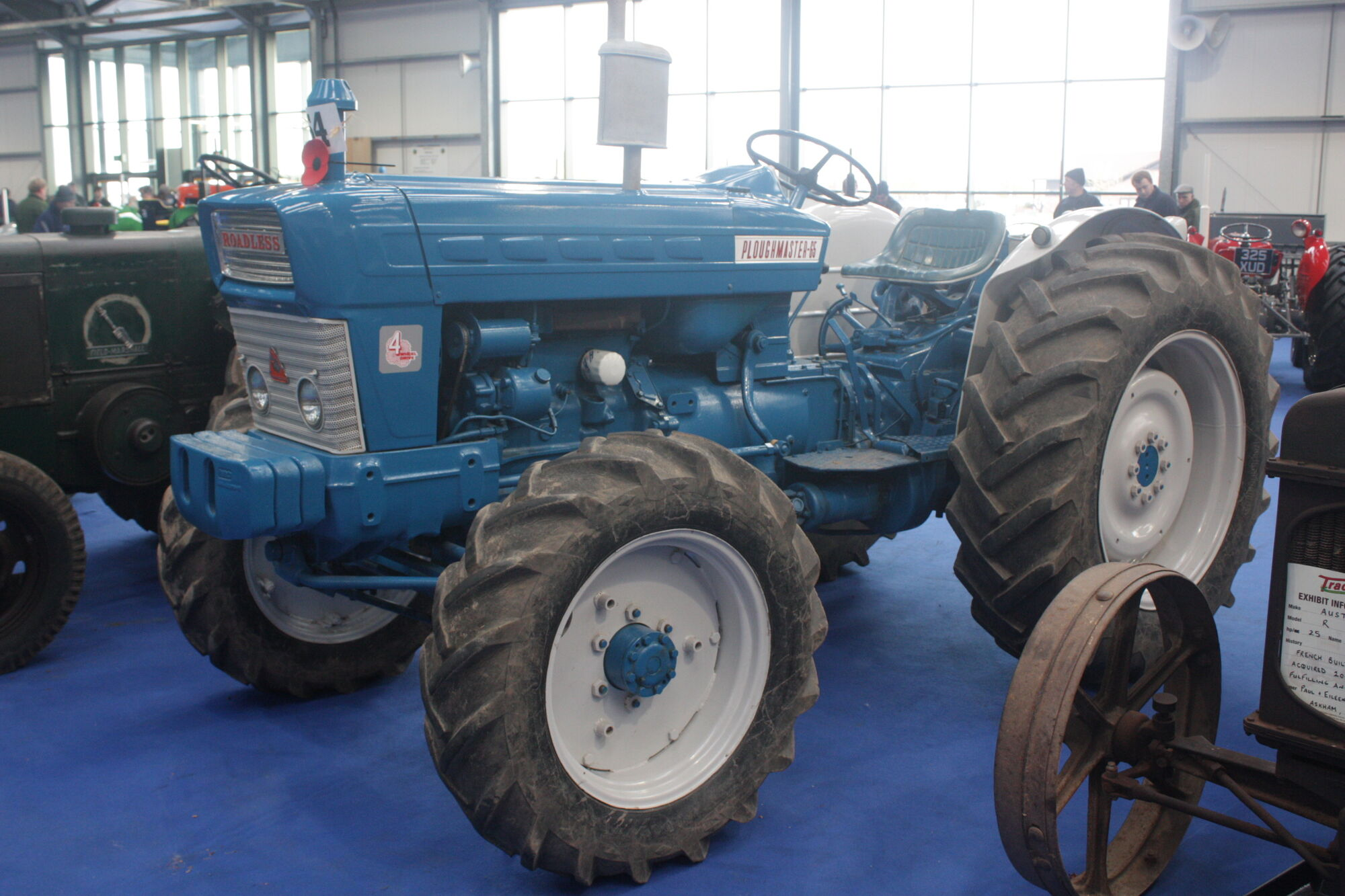 Roadless Ploughmaster 65 | Tractor & Construction Plant Wiki | FANDOM  powered by Wikia