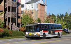 TriMet Flxible-built bus