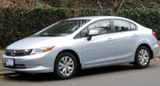 2012 Honda Civic LX sedan -- 01-07-2012