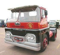 A 1960s GUY Warrior Diesel Haulage Tractor