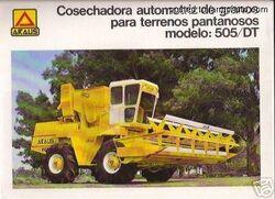 Araus 505 DT combine