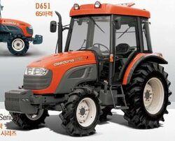 Daedong D651 MFWD - 2005