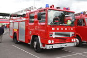 Dennis fire engine - B537 GWB at SYTR 11 - IMG 7936
