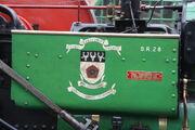 Derbyshire CC crest on A&P no. 7798 - Titanic - IMG 1874