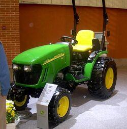 JD 2520 HST (new) MFWD - 2008