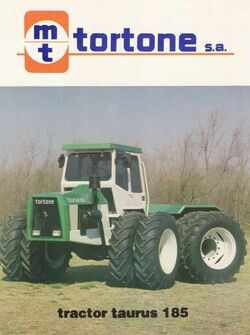 Tortone Taurus 185 4WD brochure