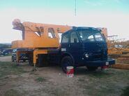 1980 IBESA TM2025 Crane on Pegaso Diesel truck
