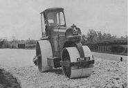 A 1960s Aveling Barford HDC18 Roadroller Diesel