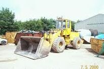 A 1980s BRAY PS1000B 4WD TD Loader