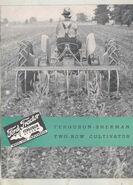 Ferguson-Sherman Fordson 2-row cultivator ad