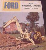 Ford 2000 backhoe
