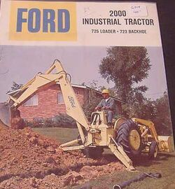 Ford 2000 backhoe