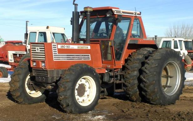 Hesston 180-90 Turbo DT | Tractor & Construction Plant Wiki