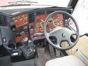 Inside Kenworth conventional