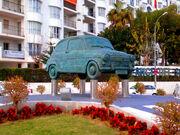 Monumento al Seat 600 . Fuengirola - España