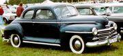 Plymouth Special De Luxe Coupe 1948