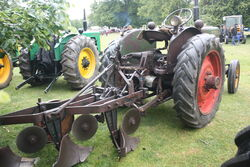Turner tractor and plough at newby 2011 - IMG 0167