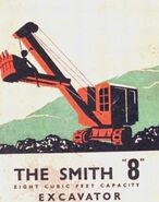 A 1940s Smith Of Rodley 8 Excavator