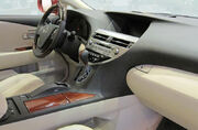 Lexus RX 350 450h cabin view