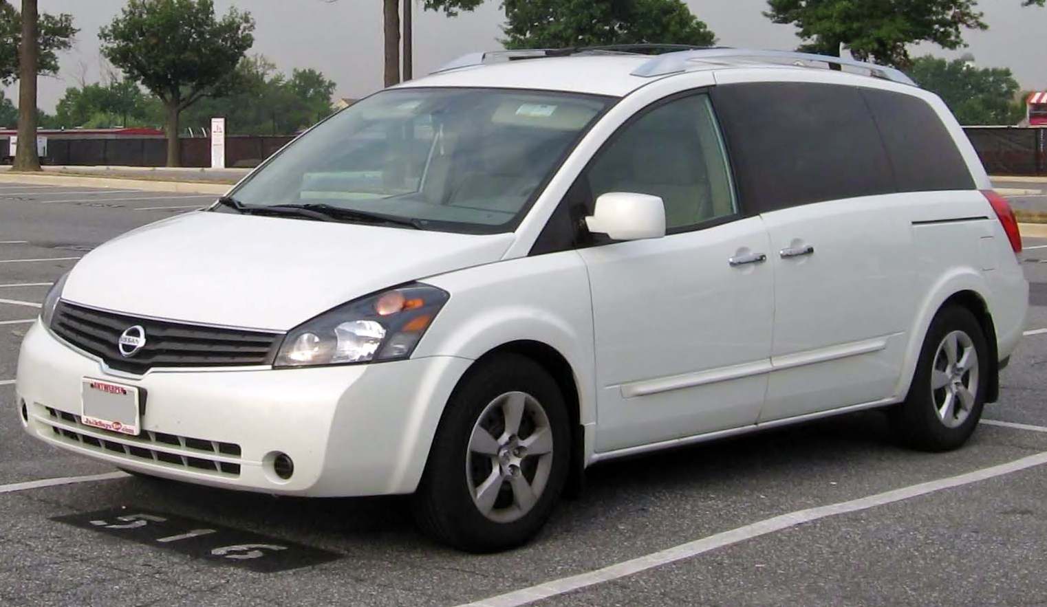 image - 2007-nissan-quest | tractor & construction plant wiki
