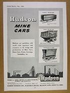 A 1950s Hudson Mining wagons Catalogue