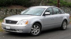 Ford Five Hundred -- 11-26-2011