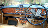 Jaguar 420 dashboard