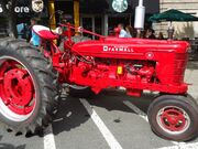 Summit New Jersey car show Sept 2013 6 red tractor McCormick Farmall
