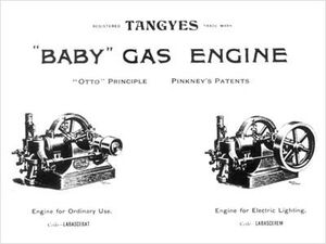 Tangye pinkney patent engine