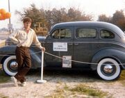 1939 Plymouth, shown in 1987